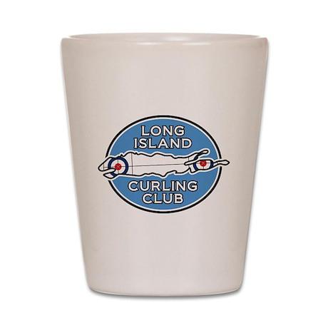 Long Island Curling Club Shot Glass