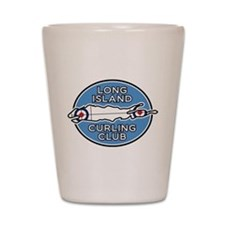 Long Island Curling Club Shot Glass