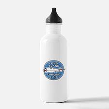 Long Island Curling Club Water Bottle