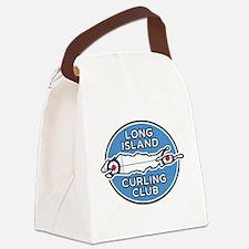 Long Island Curling Club Canvas Lunch Bag