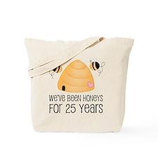 25th Anniversary Honey Tote Bag
