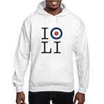 I Curl Long Island Hooded Sweatshirt