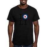 I Curl Long Island Men's Fitted T-Shirt (dark)