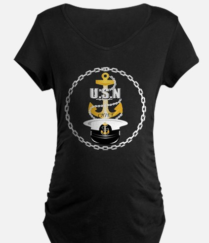 Navy - CPO - Chief Hat T-Shirt