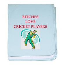 cricket baby blanket