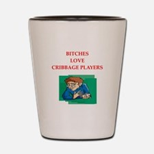 cribbage Shot Glass