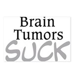 Brain Tumors Suck Postcards (Package of 8)