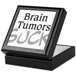 Brain Tumors Suck Keepsake Box