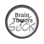 Brain Tumors Suck Wall Clock