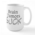 Brain Tumors Suck Large Mug