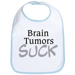 Brain Tumors Suck Bib