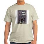 T-Shirt - Never Forget - Firemen - Ash Grey