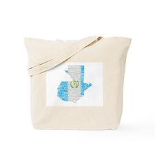 Guatemala Flag Print Tote Bag