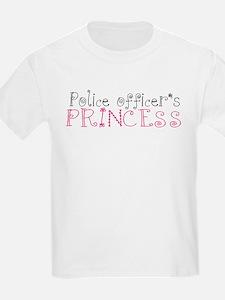 Police officer's princess T-Shirt