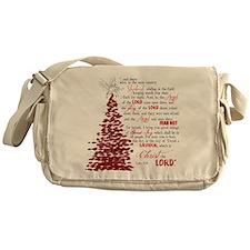 Luke 2:8 Messenger Bag