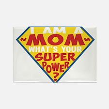 Superhero Mom Rectangle Magnet