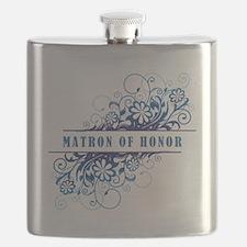 MATRON OF HONOR Flask