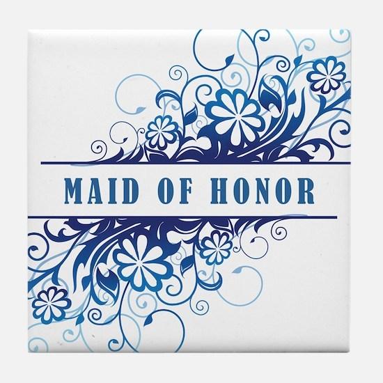 MAID OF HONOR Tile Coaster