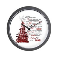 Luke 2:8 Wall Clock