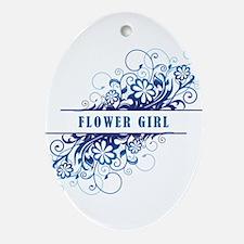 FLOWER GIRL Ornament (Oval)