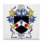 Tyrie Coat of Arms Tile Coaster