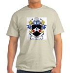 Tyrie Coat of Arms Ash Grey T-Shirt