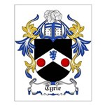 Tyrie Coat of Arms Small Poster