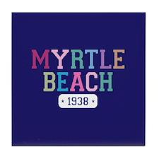 Myrtle Beach 1938 Tile Coaster
