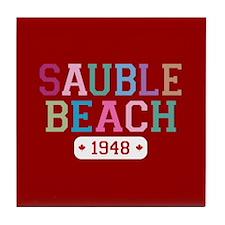 Sauble Beach 1948 Tile Coaster