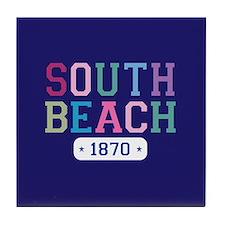 South Beach 1870 Tile Coaster
