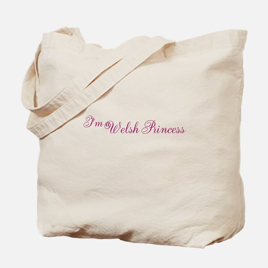 Welsh Princess Tote Bag