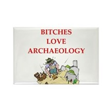 archaeology Rectangle Magnet