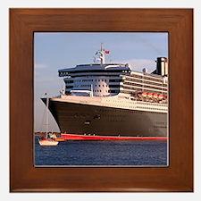Cruise Ship 2 Framed Tile