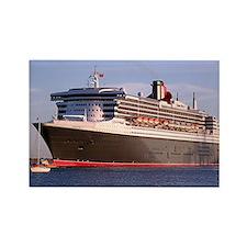 Cruise Ship 2 Rectangle Magnet