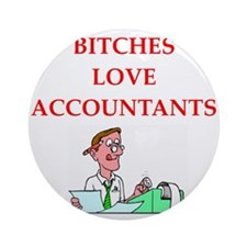accountantt Ornament (Round)