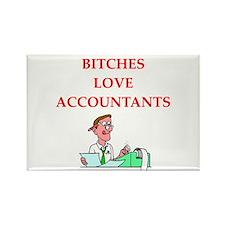 accountantt Rectangle Magnet