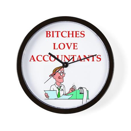 accountantt Wall Clock