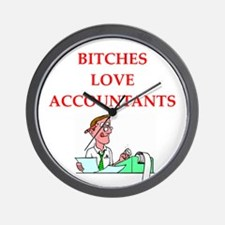 accountantt Wall Clock