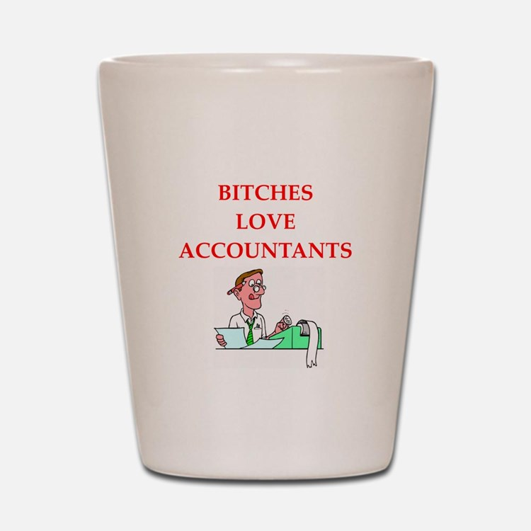 accountantt Shot Glass