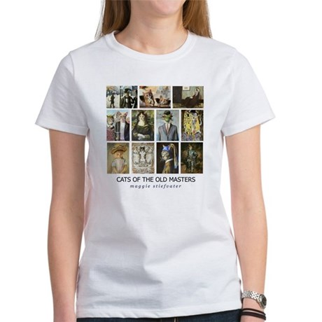Cats of the Old Masters resized.jpg T-Shirt