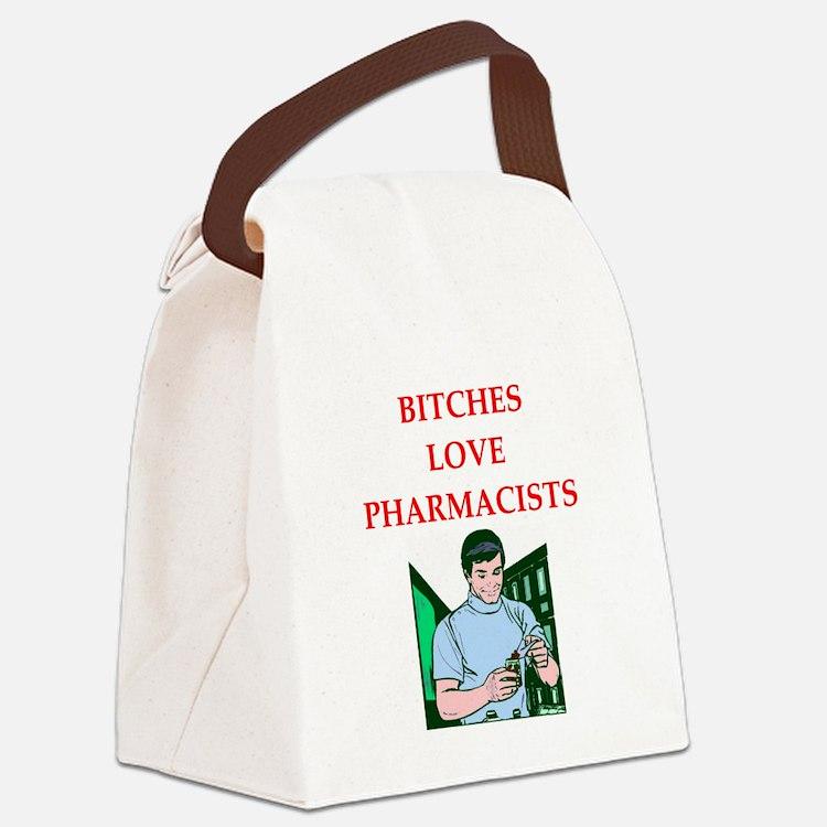 pharmacy Canvas Lunch Bag