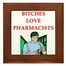 pharmacy Framed Tile