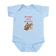 roofer Infant Bodysuit
