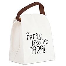 Economy Humor Canvas Lunch Bag