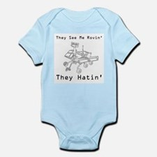 Mars Rover They See Me Rovin They Hatin Infant Bod