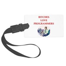 programmer Luggage Tag