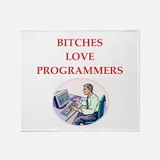 programmer Throw Blanket