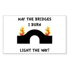 Bridges Burn Decal