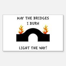 Bridges Burn Decal