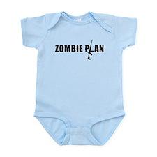 Zombie Plan for Zombiekamp.com Infant Bodysuit
